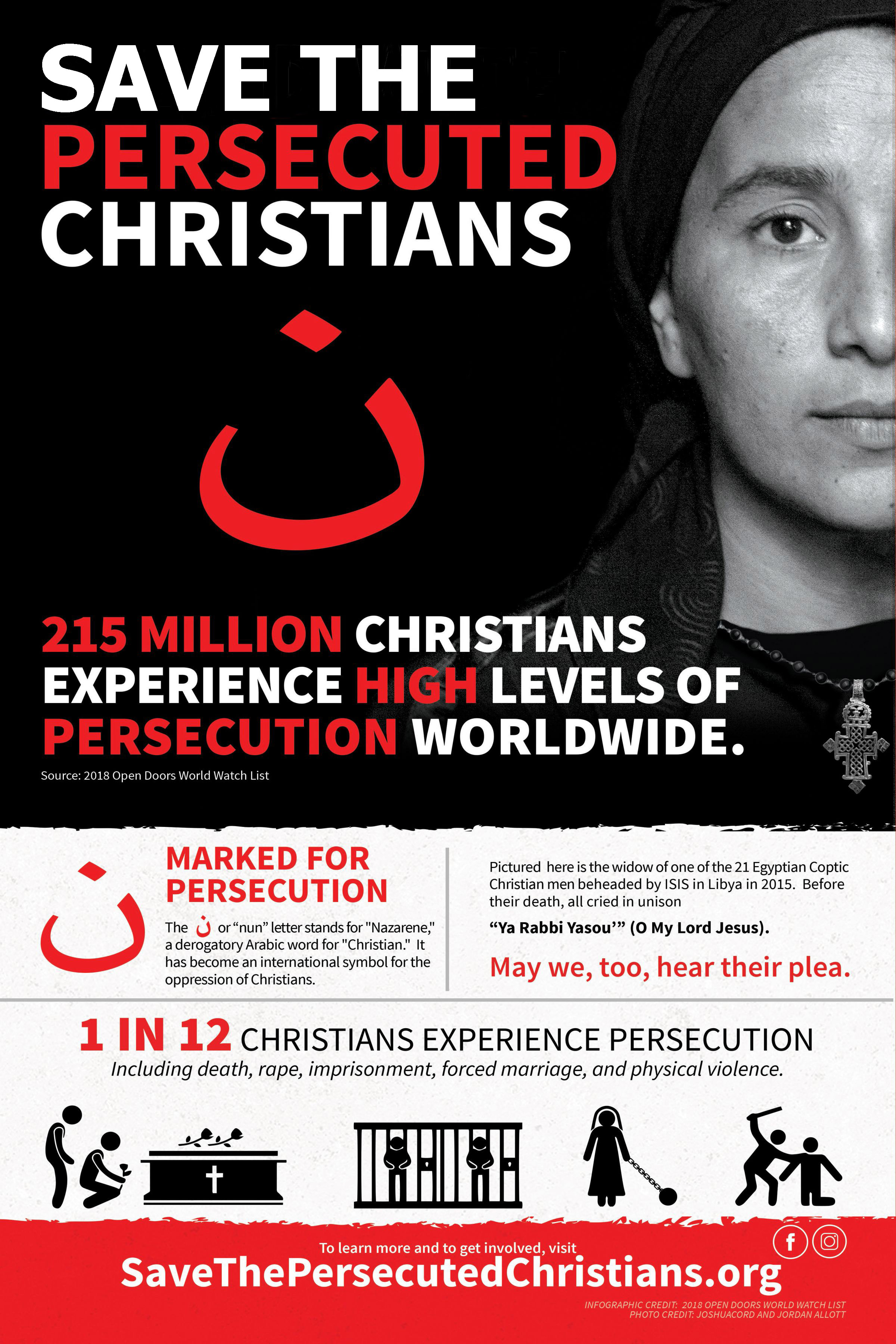 Save the Persecuted Christians poster